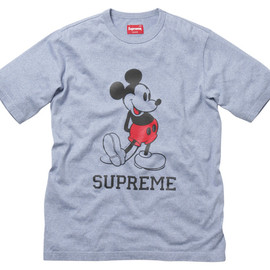 Mickey Mouse x Supreme  - T-shirt