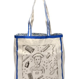 OLYMPIA LE-TAN - Nurse Printed Canvas Tote Bag