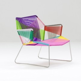 Diatom Aluminium Stacking Chair