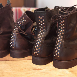 UNDERCOVER - STUDS BOOTS