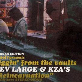 """Various Artists - FRONT Presents diggin' from the vaults """"Reincarnation"""" DEV LARGE & KZA'S (Warner Edition)"""