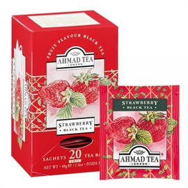 Ahmad Tea - Strawberry Flavour Tea
