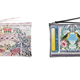 Mary Katrantzou - Spring/Summer 2013 Clutches