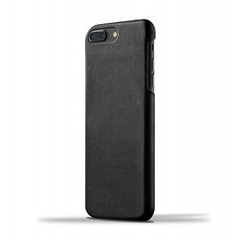 Mujjo - Leather Case for iPhone 7 Plus - Black