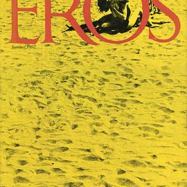 "Eros Magazine - ""EROS"" Vol.1 No.2, Editor: Ralph Ginzburg Art Director: Herb Lubalin, Summer 1962"