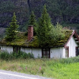 The Grass Roofs of Norway | Amusing Planet