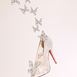 Christian Louboutin - Cinderella shoes