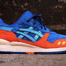 Ronnie Fieg x Asics - Gel Lyte III Blue/Orange