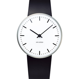 Arne Jacobsen - city hall 34mm white×black