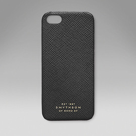 Smythson - iPhone 5 Hard Cover Black