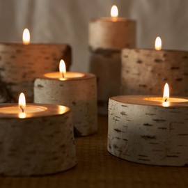TIMBER - Candle Holders