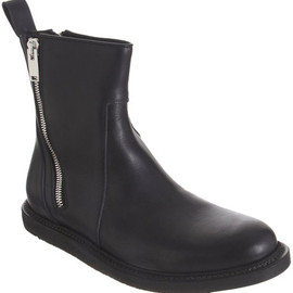Rick Owens - Rick Owens side zips ankle boot