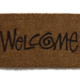 Stussy - Stussy*Landscape Products (ステューシー リビン  ウェルカムマット) STUSSY Livin'GS Welcome Mat/Large Mat