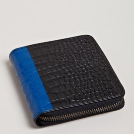 Dries Van Noten - Dries Van Noten Men's Contrast Colour Zip Wallet