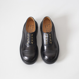 Quilp - Oxford Shoe / Black x Black , 2Tone