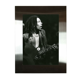 Bob Marley, Rock Paper Photo, BALOON - ボブ・マーリー アルミフォトフレーム ( BOB MARLEY by CHUCK PULIN 1 )