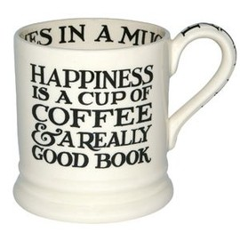 Emma Bridgewater - Black Toast Happiness 1/2 Pint Mug