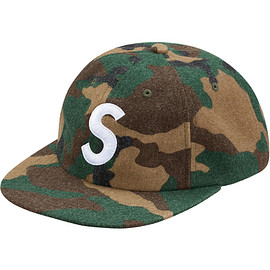 Supreme - Wool S Logo 6-Panel