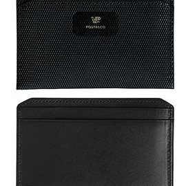 POSTALCO - CROSSGRAIN LEATHER FLAT WALLET | POSTALCO