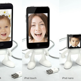 iPhone/iPod Dock式充電スタンド「Pinhead for iPhone4S/4」:SP638