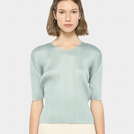 Issey Miyake - Top in Sage by Issey Miyake Pleats Please- Mohawk General Store