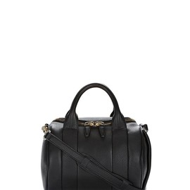 ALEXANDER WANG - ROCKIE IN SOFT BLACK WITH PALE GOLD