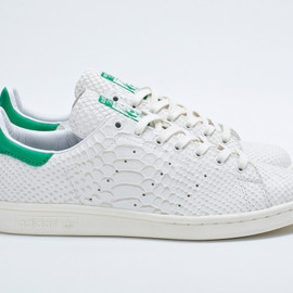 adidas Consortium, DOVER STREET MARKET - Stan Smith (Reptile Leather)