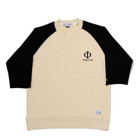 bal - QUARTER SLEEVE CREW NECK SWEAT