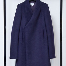 MELTON PEA COAT LONG