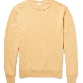 Hartford - Loopback Cotton-Jersey Sweatshirt