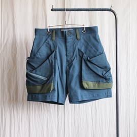 TROVE - BIG POCKET SHORTS Ver;4 [TYPE RELAX] #blue green