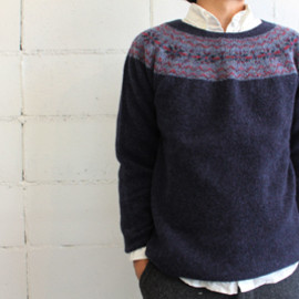 Nor' easterly - NORDIC SWEATER