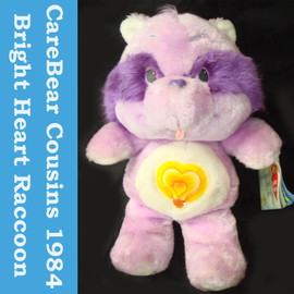 Care Bears - Cousins Bright Heart Raccoon