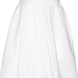 CARVEN - Cotton-poplin skirt