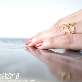 "Ostara - Filigree Ring ""Bubble"""