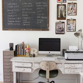 Beth's Beautiful Vintage Clothing Studio Creative Workspace