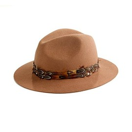 Madewell - Forest Feather Fedora