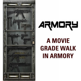 Metal Core Door Decal - Armory