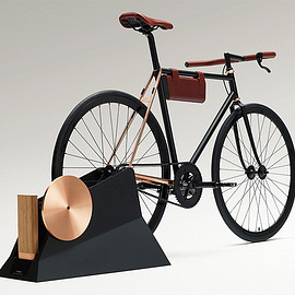 YAMAHA - Concept Bicycle & Rechargeable Portable Battery