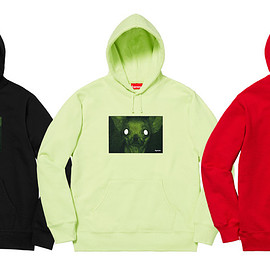 Supreme, Chris Cunningham - Chihuahua Hooded Sweatshirt