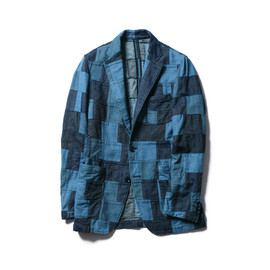 SOPHNET. - PATCH WORK DENIM 3 BUTTON JACKET