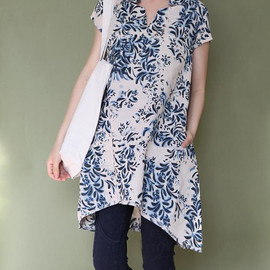 shirt - Summer asymmetric top shirt
