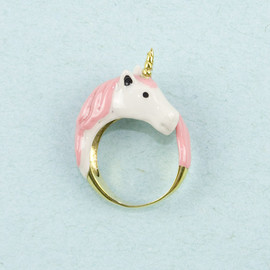 Modernaked - Pink Unicorn Ring