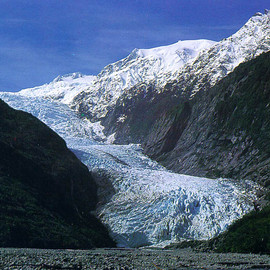 Franz Josef glacier - Franz Josef glacier, West Coast, NEW ZEALAND