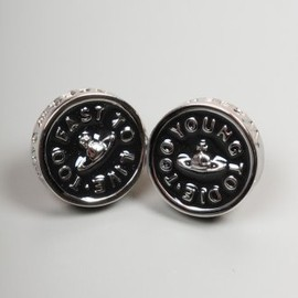 Vivienne Westwood - JEWELLERY T.F.T.L. Earrings Silver & Black