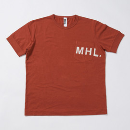 MHL. - PRINTED JERSEY POCKET T-SHIRT