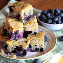 Recipe Girl - Blueberry Cornbread