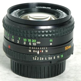 minolta - MD ROKKOR 50mm f1.4 Φ55mm