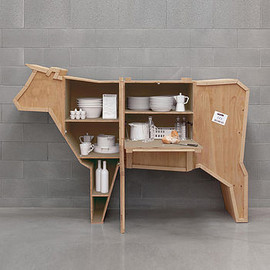 OUT THERE INTERIORS - Cow Storage Cabinet