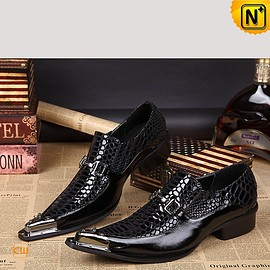 cwmalls - Mens Pointed Toe Dress Shoes Italian Shoes CW751539